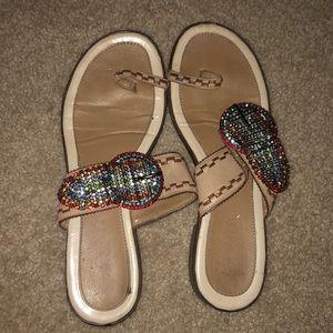 vero cuoio sandals size 8